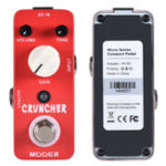 New MOOER MDS3 Micro Mini Cruncher High Gain Distortion Guitar Effects Pedal