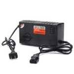 New 180-240V 20AH Smart Charger For Motorcycle Scooter Wheel Electric Bicycle Lead Acid Battery