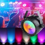 New 30W RGB+UV COB LED RGB Stage Light DMX Remote DJ Bar Disco KTV Party Christmas