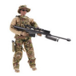New 1/6 12inch Simulate Action Figure Soldier Doll RC Car Parts