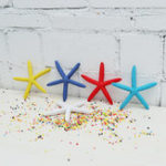 New Artificial Finger Starfish Coastal Beach Christmas Tree Ornaments Ball Decorations