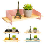 New Nordic Wall Shelf Household Wooden Hanging Holder Storage Wall Mount Rack Home Decorations