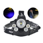 New XANES® 2408B 2500LM Dimmed Version Mechanical Zoom Headlamp For Camping Hunting Cycling 2×18650 Battery USB Interface