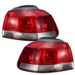New Car Rear Tail Brake Light Lamp Cover Left/Right without Bulb for VW Golf Mk6 Hatchback 2009-2013