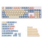 New West World 153 Key XDA Profile Dye-sub PBT Keycaps Full Layout Keycap Set