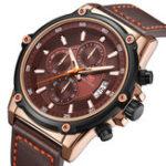 New MINI FOCUS MF0175G Military Style Luminous Men Quartz Watch