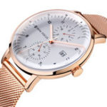 New MINI FOCUS MF0052G Business Style Stainless Steel Men Watch