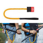 New Naturehike NH18J009-B 66cm SUP Paddle Surfboard Anti-lost Rope Elastic Lanyard Strap Leash Kayak Boat Canoe
