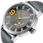 New MINI FOCUS MF0154G Military Style Calendar Men Quartz Watch