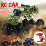 New 1PC MUYS 1/18 2.4G 4WD Rc Car + 1080P HD WIFI FPV App Controlled Off-Road Vehicle Climbing Truck RTR