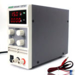 New Wanptek KPS1510DF Mini 15V 10A Adjustable DC Power Supply LED 4 Digits Switching Power Supply Lab