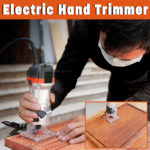 New 220V 470W Electric Hand Trimmer Router Edge Joiners Tool 30000r/min Woodworking Edge Cutter Wood Laminator Router