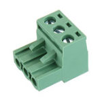 New 2 EDG 5.08mm Pitch 3Pin Plug-in Screw PCB Terminal Block Connector Right Angle