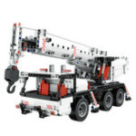 New Xiaomi Mitu 360 Degree Rotating Building Engineering Crane Blocks Toys Model