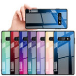New Bakeey Gradient Tempered Glass Protective Case For Samsung Galaxy S10e S10 S10 Plus Scratch Resistant Back Cover