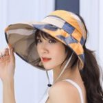 New UV Protection Sun Hat Large Brim Collapsible Empty Top Hat