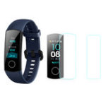 New Mijobs 2pcs Soft TPU HD Ultra Clear Watch Screen Protector for Huawei Honor Band 4 Running Version
