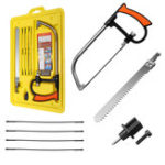 New 9 In 1 Magic Handsaw Set DIY Hand Bow Saws Wood Stone Metal Working Cutting Tools