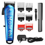 New Professional Hair Trimmer Clipper Rechargeable Shaver