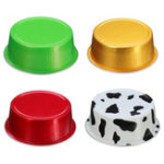 New 100Pcs/Set Round Aluminum Foil Cake Cup Reusable Baking Mold Muffin Case with Cover