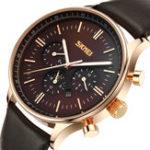 New SKMEI 9117 Business Style Waterproof Men Wrist Quartz Watch
