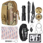 New 30 In 1 Tactical Survival Emergency Tools Bag Camping Travel Outdoor Soft Relief Kit