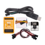 New U6 Flight Controller Combo With OSD M8N-GPS 30A Current Meter Support SBUS/PPM For Fixed Wing RC Airplane FPV Racing Drone