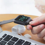 New HOCO Mini Portable Magnetic Adsorption USB Wireless Charger for Apple Watch 1 / 2 / 3 / 4