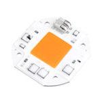 New LUSTREON 50W LED Full Spectrum Plant Grow Light 380-840nm DIY Chip AC100-260V