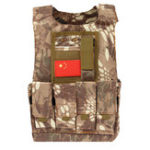 New Kids Children Tactical Military Vest Assault Combat Gear Army CS Play Hunting Protective Aemor