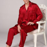 New Mens Silky Soft Comfy Pajama Set Casual Home Loungewear