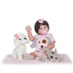 New NPK Reborn Doll High-end Vinyl Silicone Princess Doll Birthday Holiday Gift Bedtime Playmates Toys