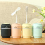 New 200ml DC 5V 3 in 1 USB Mini Humidifier Fan Air Mist Nightlight LED for Home Office Room
