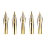 New 5pcs 0.5mm Nib Iridium Tip for Jinhao Fountain Pen X450