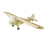 New Pipe J3 Cub 1.2M 1200mm Wingspan Balsa Wood Laser Cut RC Airplane