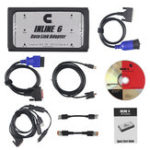 New INLINE 6 Data Link Adapter Heavy Duty Car Diagnostic Tool Scanner Full 8 Cable Truck Interface