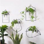 New Wall Hanging Green Plant Flower Vase Planter Box Pot Flower Holder Home Decor