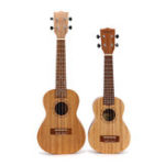 New 21 23 Inch 4 String Ukulele Mahogany Ukulele Guitar with Bag