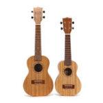 New 21 23 Inch 4 String Ukulele Mahogany Ukulele Guitar with Bag