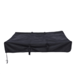 New Waterproof Roof Rack Top Tent Travel Cover Black For Camper Trailer Camping 143x120x28cm