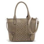 New Women Hollow Out PU Leather Handbag