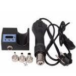 New KAISI 8858 220V 700W Portable Heat Hot Air BGA Rework Solder Station Handheld Hot Air Blower