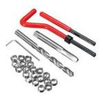 New 25Pcs M8 x 1.25 x 8mm Helicoil Compatible Thread Tap Repair Tool Cutter Kit Insert
