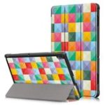 New Tri-Fold Printing Tablet Case Cover for Lenovo Tab E10 Tablet – Cubicity