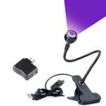 New Digoo 5V USB UV Desk Lamp LED Backlight Lamp Posters Blacklight Lamp