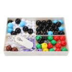 New 189Pcs Chemistry Organic Inorganic Molecular Structure Model Set 78 Atomics and 111 Bond Medical Model