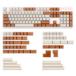 New Mars Colony 2035 162 Key XDA Profile Dye-sub PBT Keycaps Full Layout Keycap Set