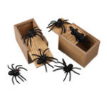New Prank Spider Inset Wooden Scare Box Trick Play Joke Lifelike Surprise April Fools' Day Funny Novelties Toys Gags Practical Gifts