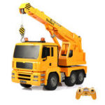 New Double E E516-003 1/20 RC Car Engineering Crane With Music Light