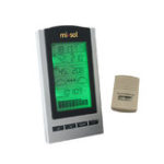 New MISOL STA-WH1150 Wireless Weather Station with Outdoor Temperature Humidity Sensor LCD Display Barometer